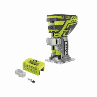 ONE+ 18V Cordless Fixed Base Trim Router (Tool Only) with Tool Free Depth Adjustment with Router Latch Mortiser
