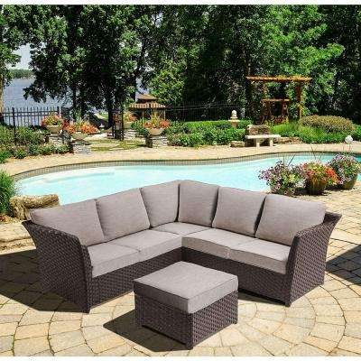 Wicker Patio Furniture - Eco-friendly - Outdoor Sectionals - Outdoor ...