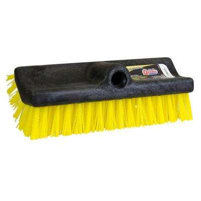 Flow Thru Bi-Level Scrub Brush
