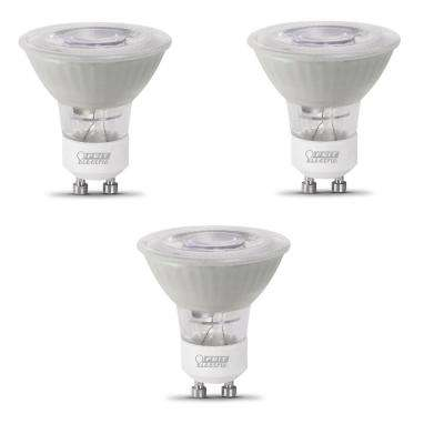 50-Watt Equivalent MR16 GU10 Dimmable CEC LED 90+ CRI Frosted Flood Light Bulb, Bright White (3-Pack)