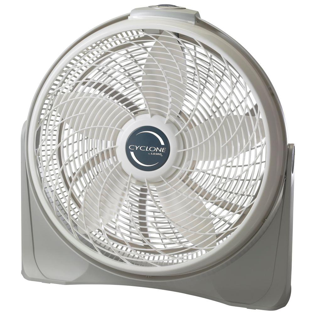 Powerful Floor Fans : Lasko cyclone in power circulator fan the home
