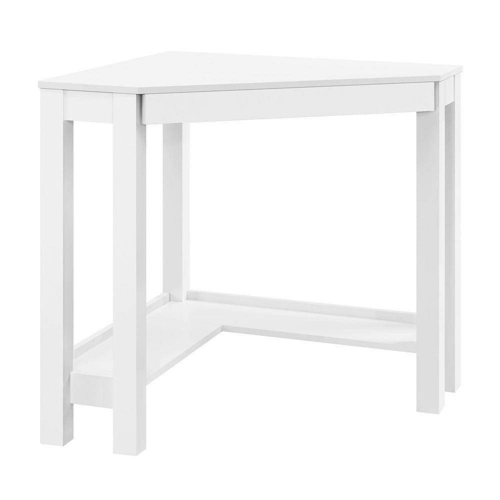 Ameriwood Nelson White Corner Desk-HD30076 - The Home Depot