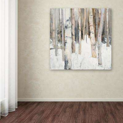 """35 in. x 35 in. """"Warm Winter Light I"""" by Julia Purinton Printed Canvas Wall Art"""