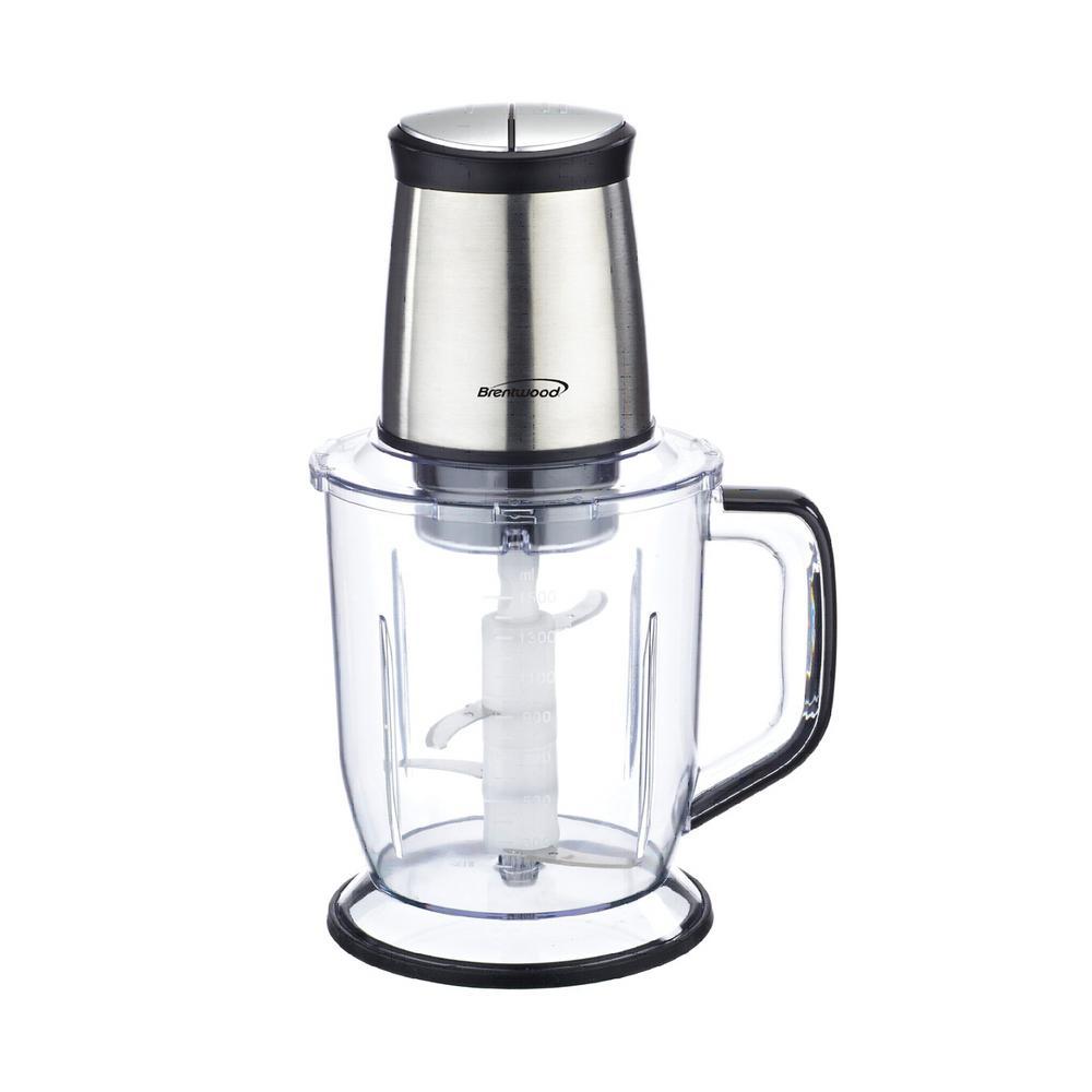 6.5-Cup Silver 300-Watt 4-Blade Food Processor