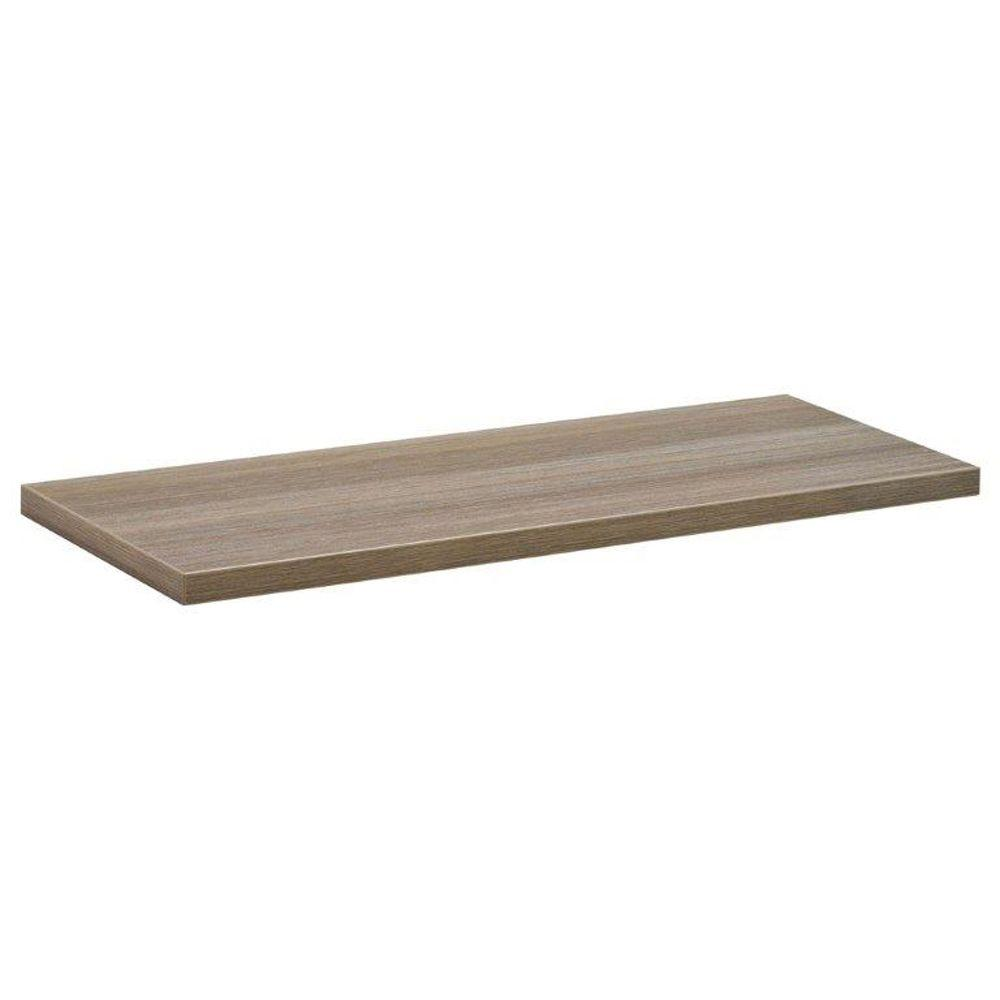 23-1/2 in. x 8 in. x 3/4 in. Driftwood Lite Shelf