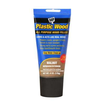 Plastic Wood 6 oz. Walnut Latex Wood Filler