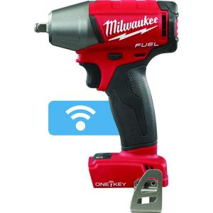 Milwaukee M18 FUEL ONE-KEY 18-Volt Lithium-Ion Brushless Cordless 3/8 inch Impact Wrench... by Milwaukee