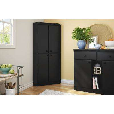 Morgan Pure Black Armoire