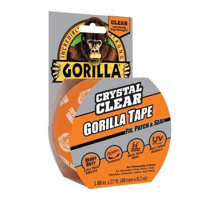 1.88 in. x 9 yds. Crystal Clear Tape (6-Pack)