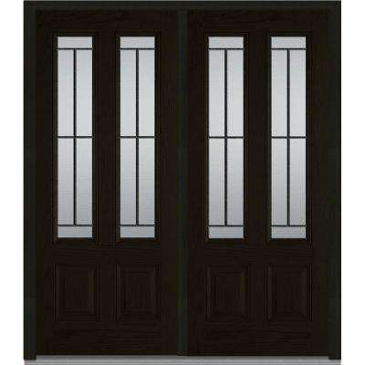 Dark Brown Wood - Front Doors - Exterior Doors - The Home Depot