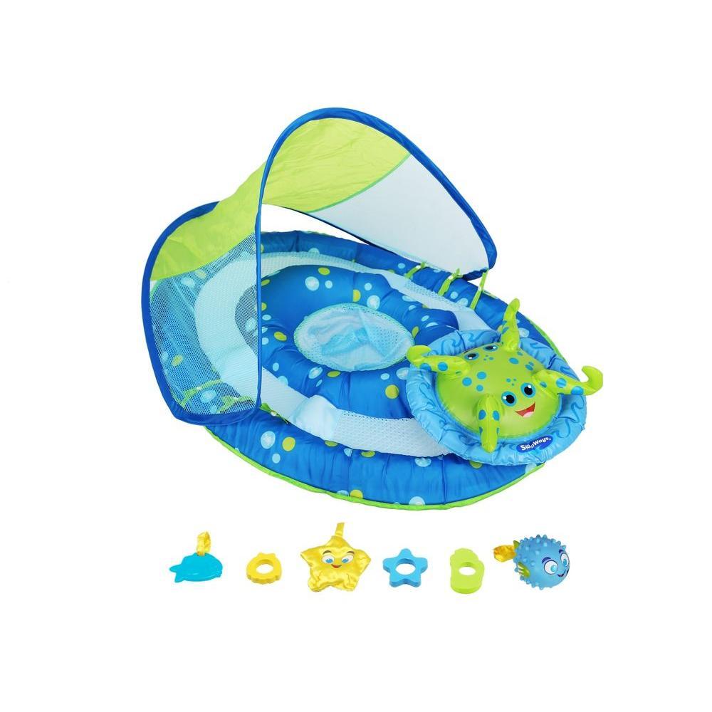 Swim Ways Baby Spring Float Activity Canopy  sc 1 st  Home Depot & Swim Ways Baby Spring Float Activity Canopy-11601 - The Home Depot