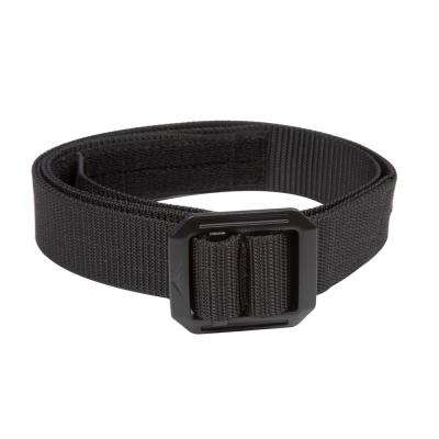 36 in. - 38 in. Large Black 1.5 in. W Heavy Duty Web Tactical Belt