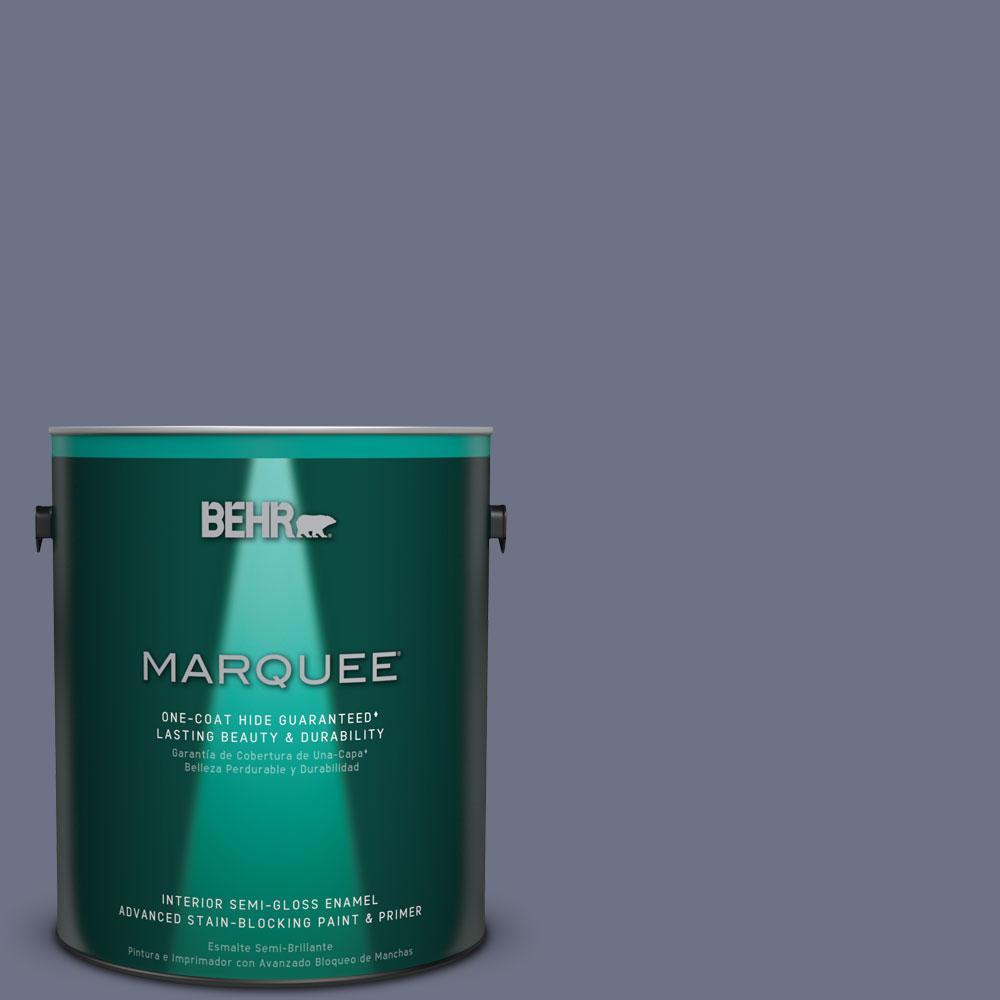 1 gal. #MQ5-11 Encore One-Coat Hide Semi-Gloss Enamel Interior Paint