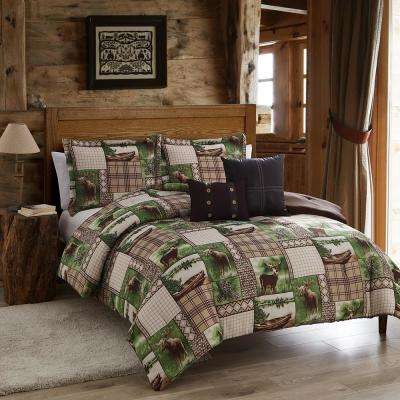 Seneca Lake 5-Piece Multi-Color King Comforter Set