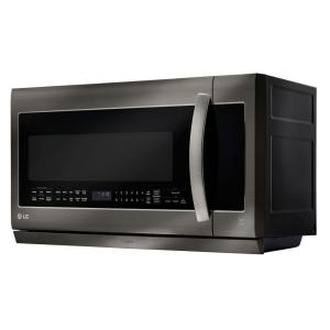 Lg Electronics 2 Cu Ft Over The Range Microwave In Black