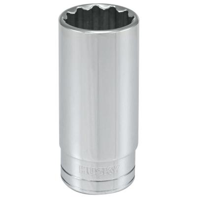 1/2 in. Drive 1 in. 12-Point SAE Deep Socket