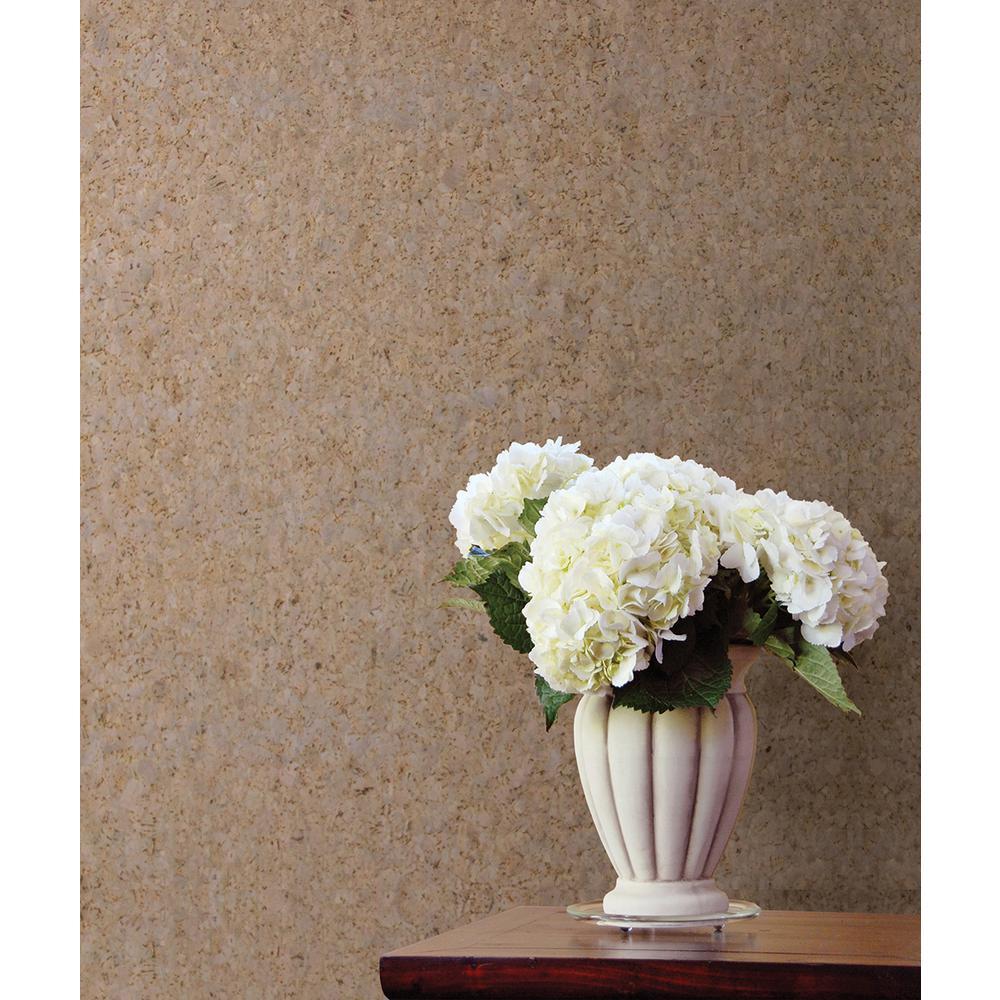 Yulia Grey Wall Cork Wallpaper Sample