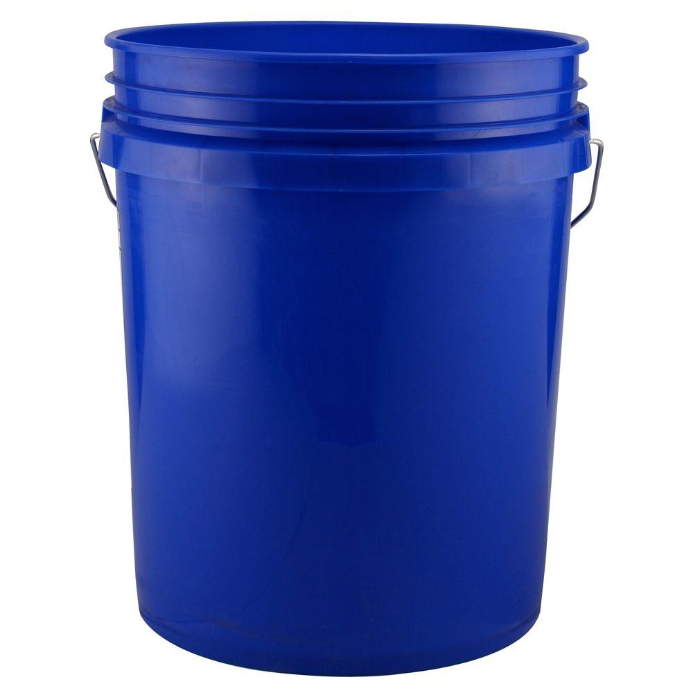 Leake 5 Gal Blue Bucket Pack Of 3