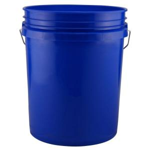 leaktite 5 gal blue bucket pack of 3 209334 the home depot