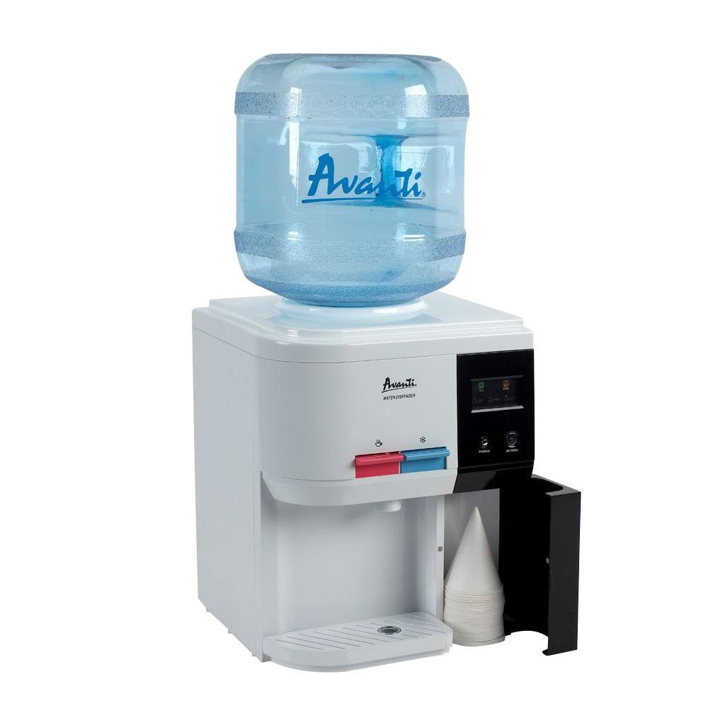 Avanti Table Top Thermoelectric Water Dispenser Filtration System And Cooler