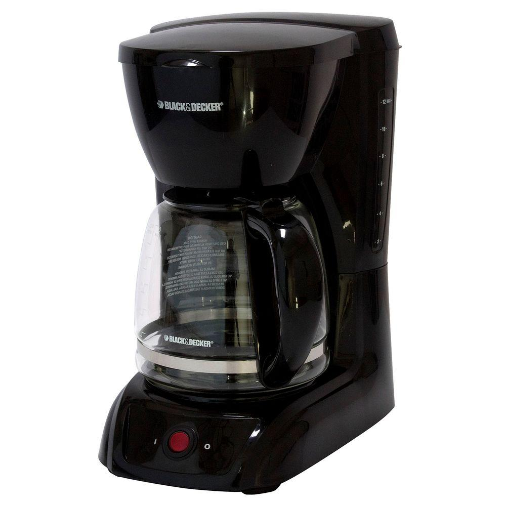 black decker 12 cup coffee maker cm1200b the home depot. Black Bedroom Furniture Sets. Home Design Ideas