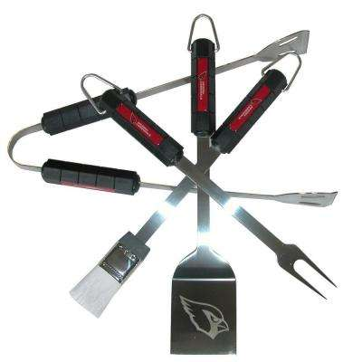 NFL Arizona Cardinals 4-Piece Grill Tool Set