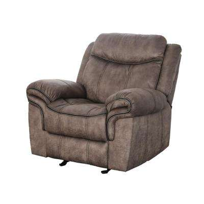 Tanner Brown Fabric Recliner