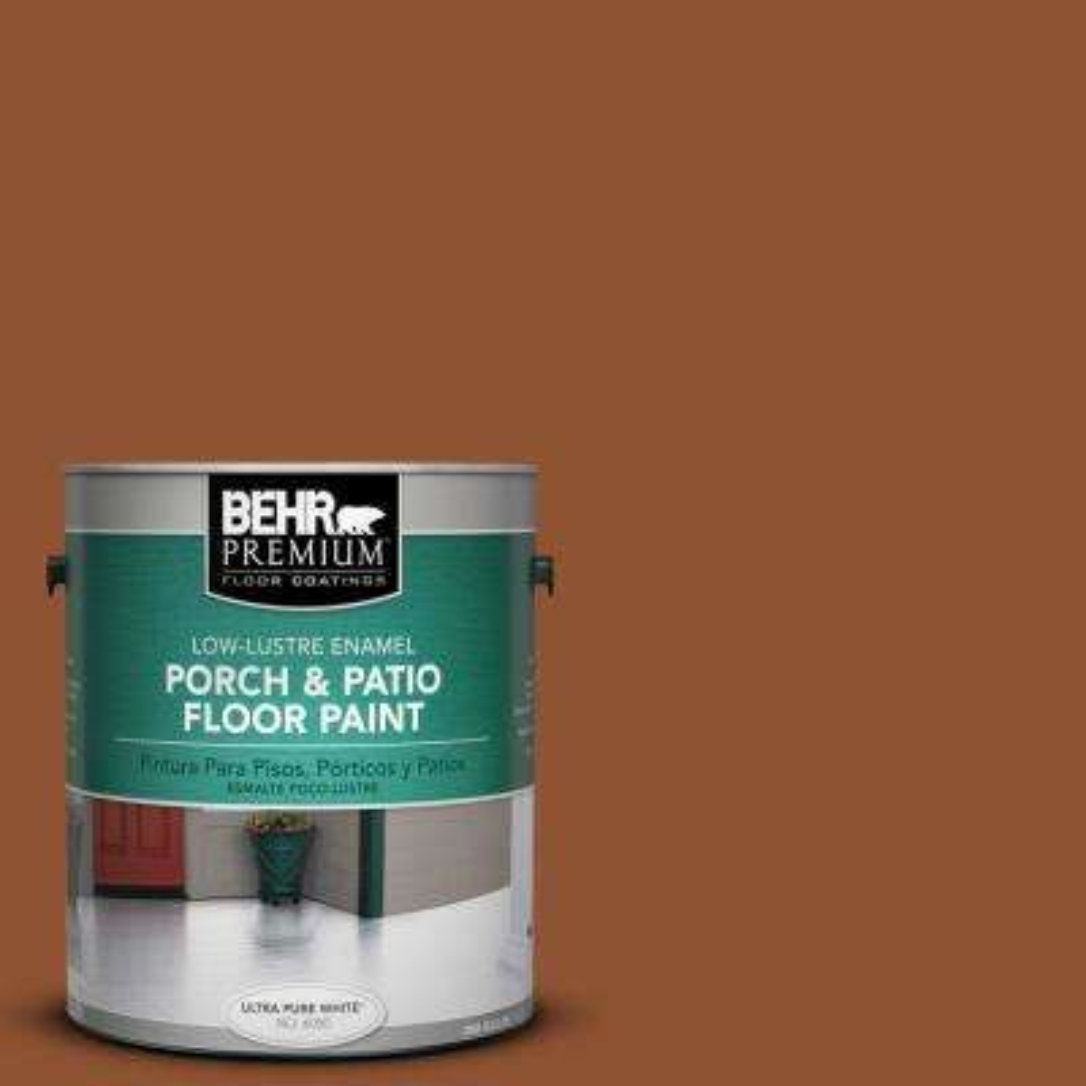 1 gal. #SC-122 Redwood Naturaltone Low-Lustre Porch and Patio Floor Paint