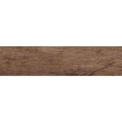 Vogue Mocha 6 in. x 24 in. Glazed Porcelain Floor and Wall Tile (30 cases / 420 sq. ft. / pallet)