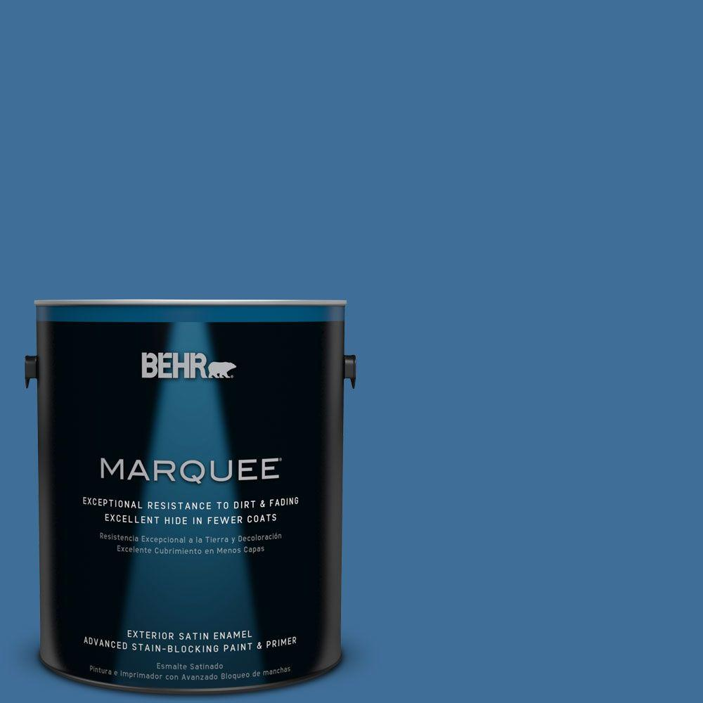 1-gal. #M520-6 National Anthem Satin Enamel Exterior Paint
