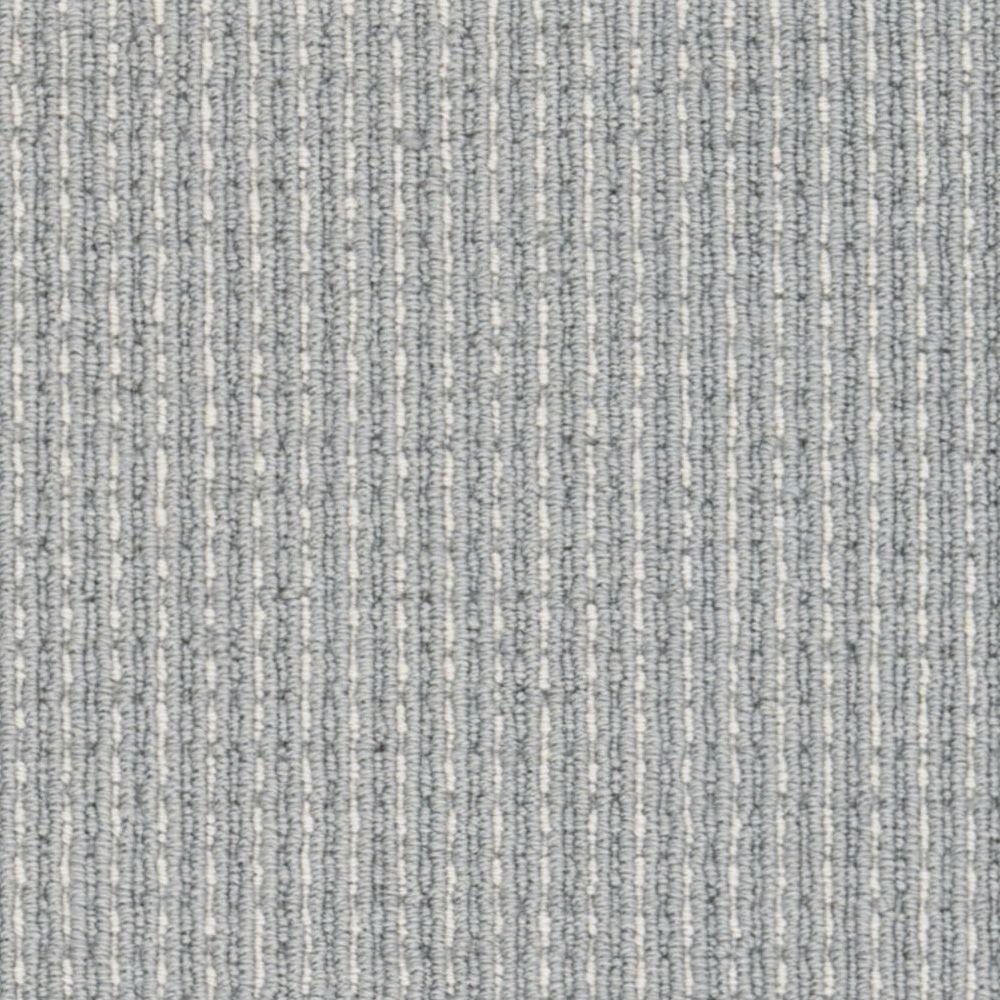 Upland Heights - Color Ocean Mist Loop 13 ft. 2 in. Carpet