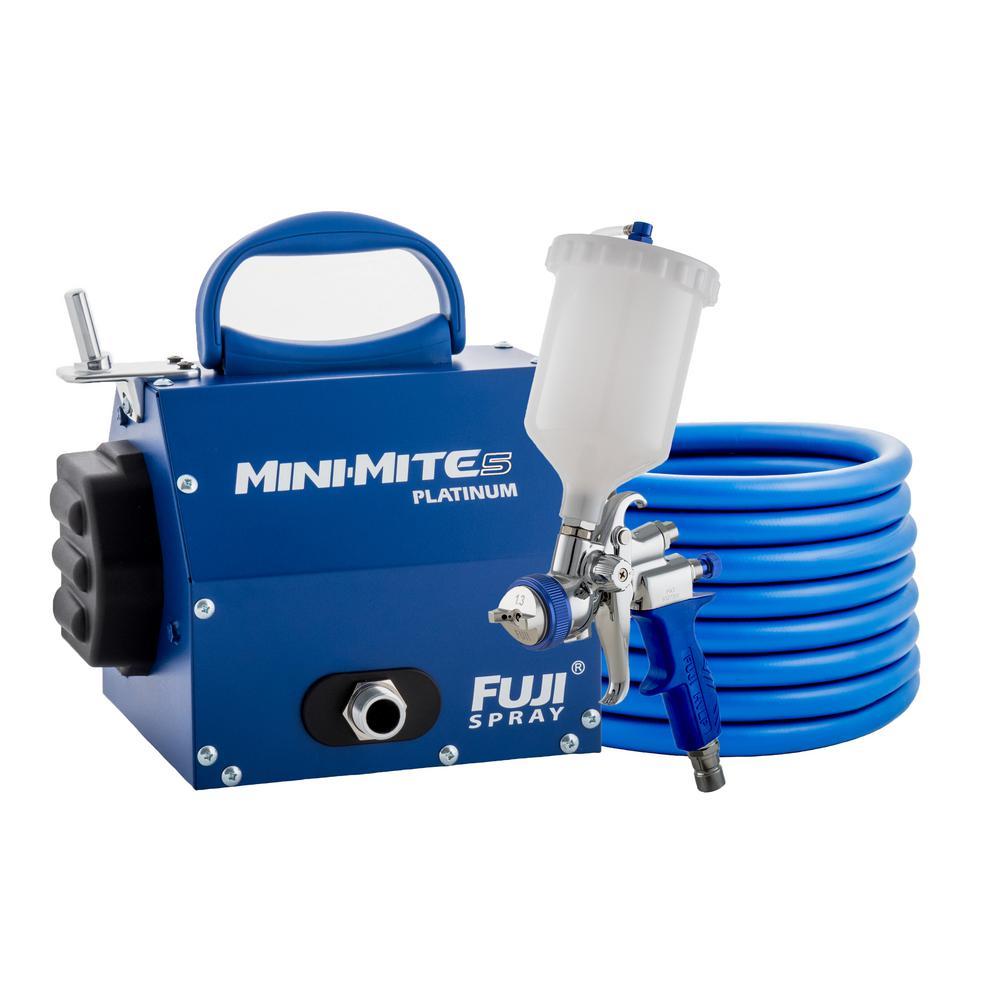 Fuji Spray Mini-Mite 5 Platinum - T75G Gravity HVLP Spray System