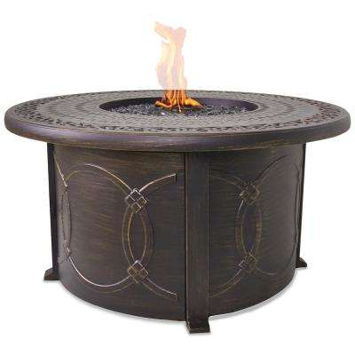 Cast Aluminum Propane Outdoor Fire Pit Table
