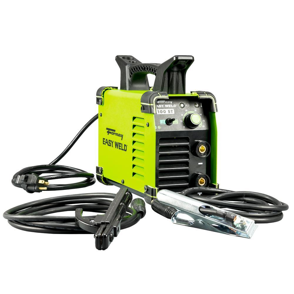 Forney 120-Volt 90 Amp Easy Weld Arc Stick Welder 100ST