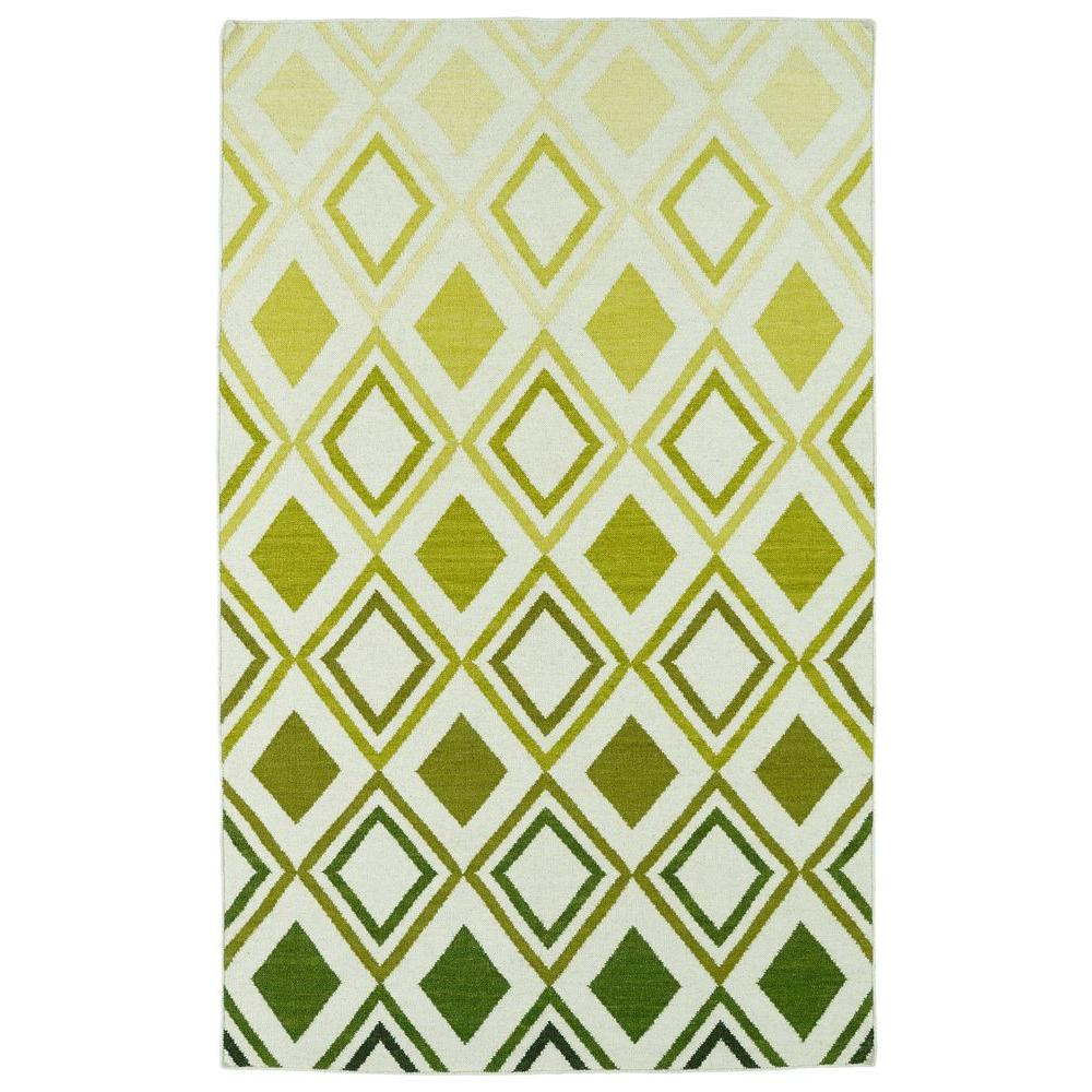 Glam Green 8 ft. x 10 ft. Area Rug