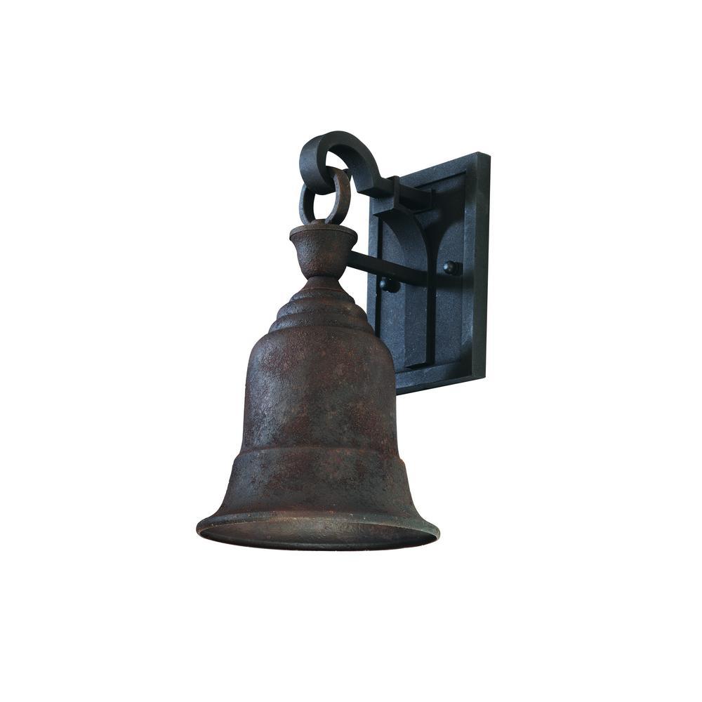Liberty Centennial Rust Outdoor Wall Mount Lantern