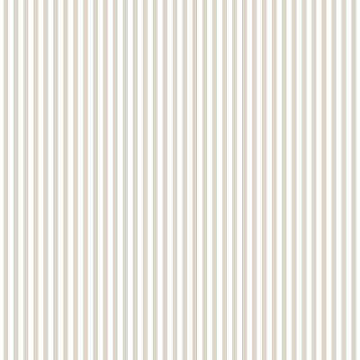 Norwall 6 mm Greige and Fawn Stripe Wallpaper, Greige/ Fawn/ Neutral