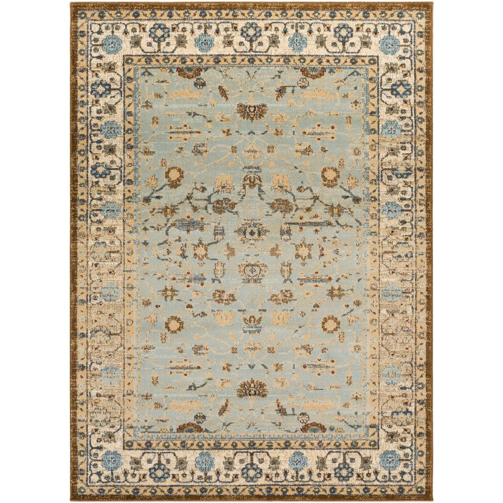 Artistic Weavers Malena Pale Blue 2 Ft X 3 Indoor Area Rug