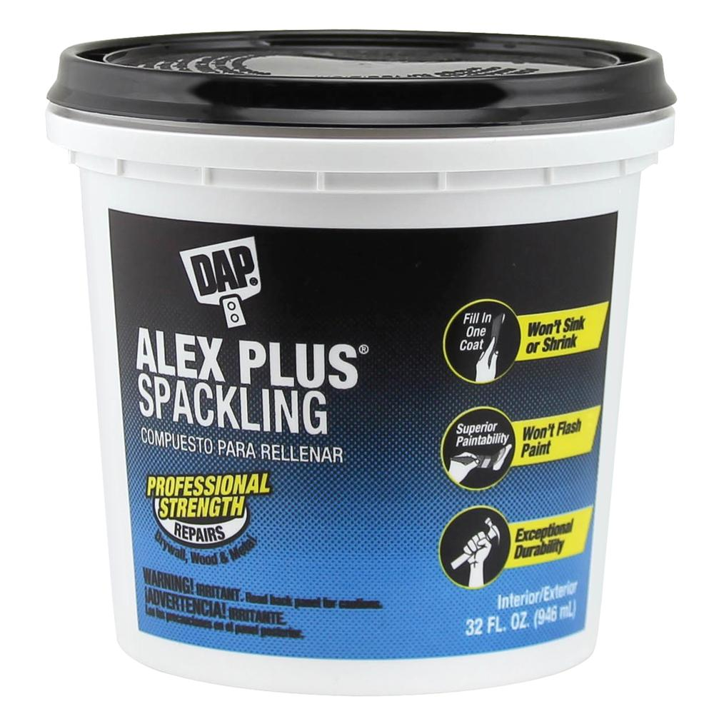 Alex Plus 32 oz. High Performance Spackling Paste (8-Pack)