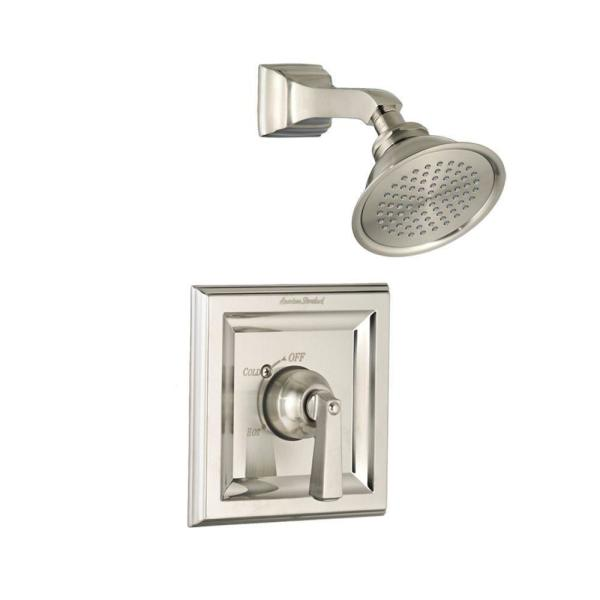 American Standard Town Square 1-Handle Tub and Shower Faucet Trim Kit Only in Brushed Nickel (Valve Sold Separately)