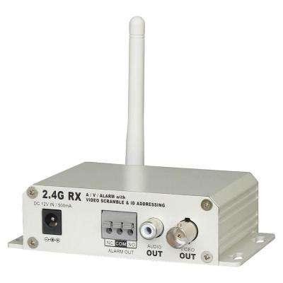 2.4GHz 4-Channel Single-Scan Scramble Wireless Receiver