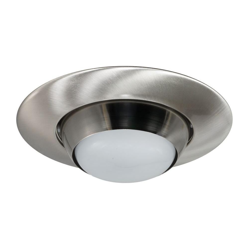 Nicor 6 In Nickel Recessed Eyeball Trim 17506nk The