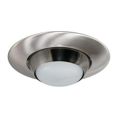 NICOR 6 in. Nickel Recessed Eyeball Trim