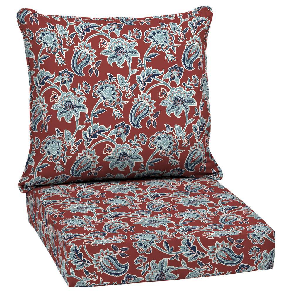 Caspian 2-Piece Deep Seating Outdoor Lounge Chair Cushion