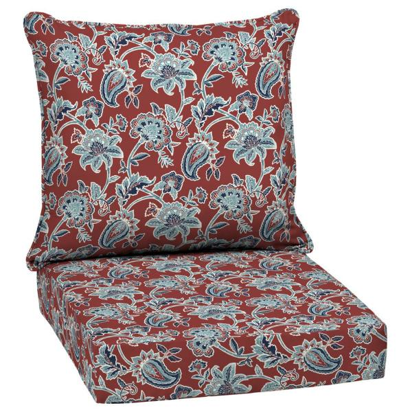 24 x 24 Caspian 2-Piece Deep Seating Outdoor Lounge Chair Cushion