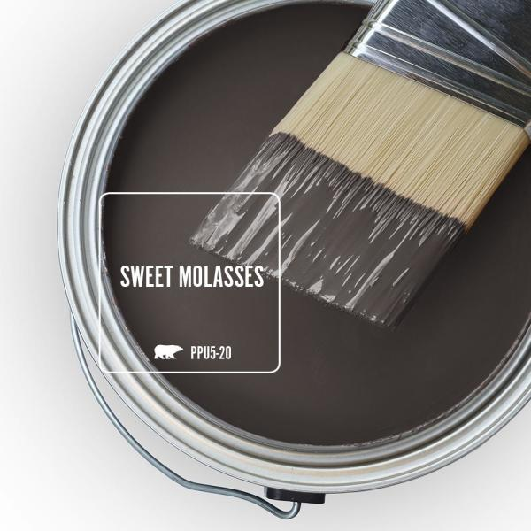Sweet Molasses Behr chocolate brown paint color