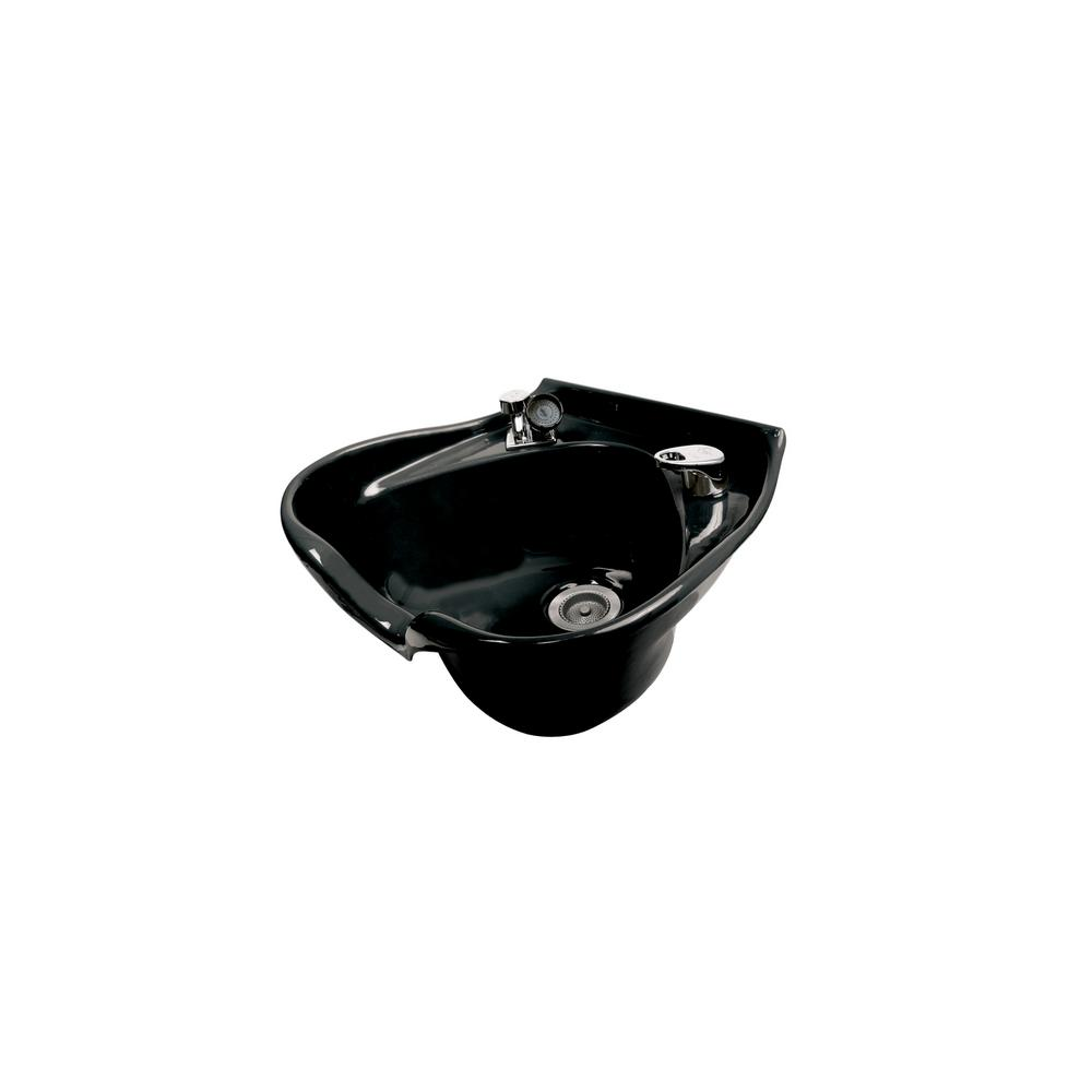 Belvedere Cameo 22 in. W x 10 in. D Enamel Shampoo Sink w...