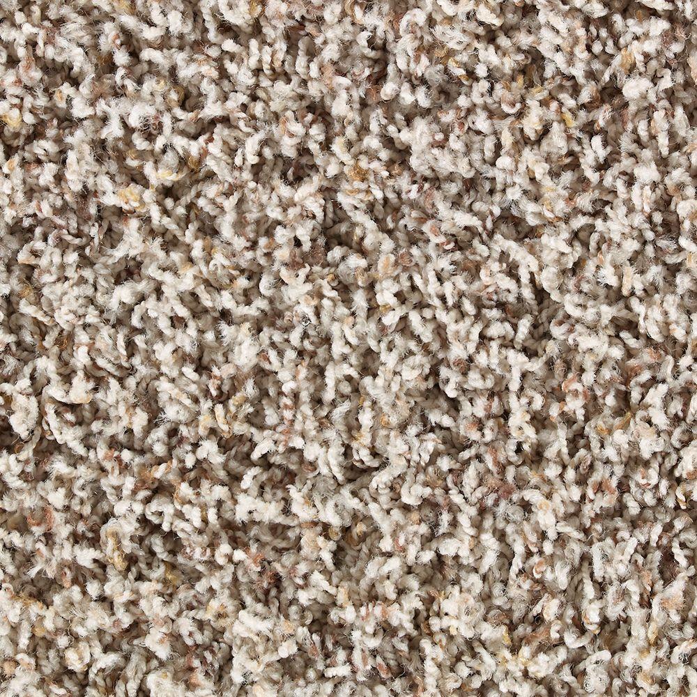 Martha Stewart Living Chatsworth Sharkey Gray Tonal - 6 in. x 9 in. Take Home Carpet Sample - DISCONTINUED