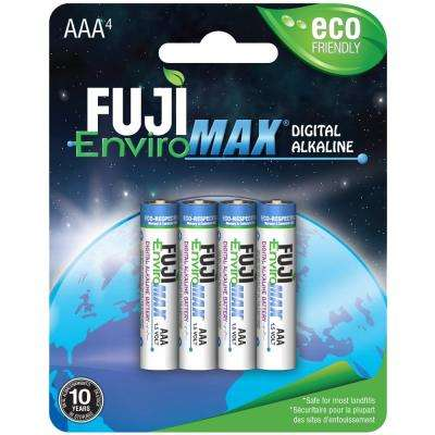 Super Alkaline AAA Battery (4 per Pack)