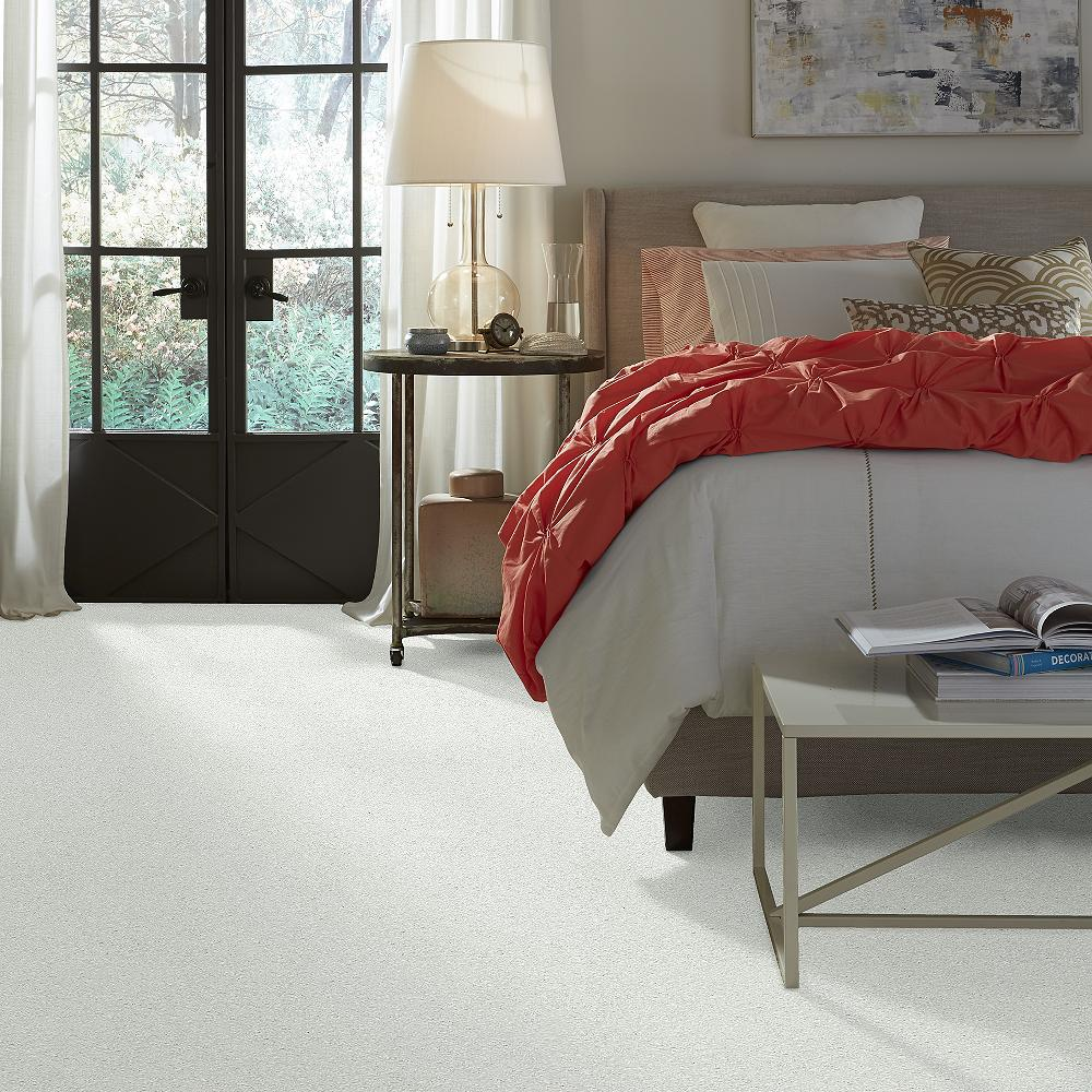 Home Decorators Collection Once Color Whipped Cream Texture 12 Ft Carpet
